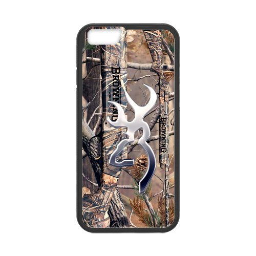 """Fayruz - iPhone 6 Rubber Cases, Browning Hard Phone Cover for iPhone 6 4.7"""" F-i5G25"""