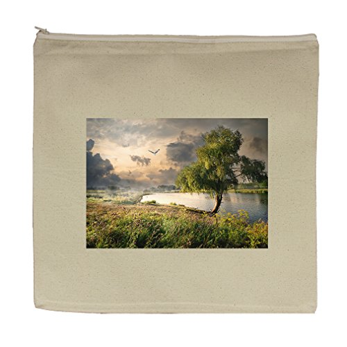 Willow Tote - Canvas Zipper Pouch Tote Bag 5.5