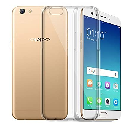 info for 9a946 bd439 MGRJ® Transparent Back Cover for Oppo F3 (Soft & Flexible Back Cover)