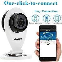 KKmoon H.264 1.0MP HD 720P Mini IP Camera P2P IR Cut WiFi Network, Wireless, Video Monitoring, Surveillance, IP Security Camera Webcam