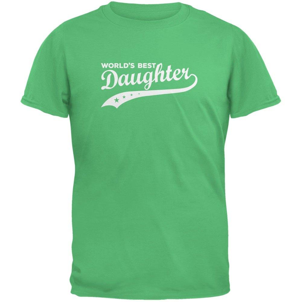 World's Best Daughter Irish Green Youth T-Shirt Tees Plus