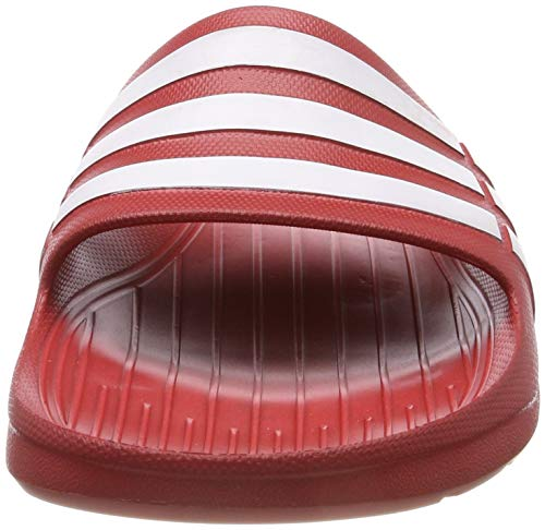 000 rojo blanco Duramo Co Adidas Rossorojo Unisex SlideCiabatte Adulto Co trhsQd