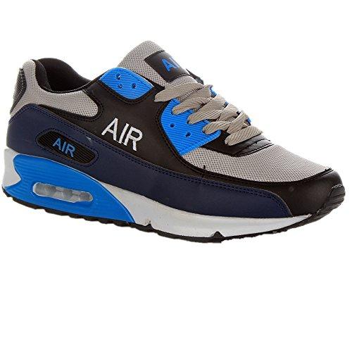 Bottes Shoes bleu Gris Classiques Homme Click RqgW5qY
