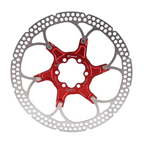 Formula Disc Rotor Alloy 180mm 6 Bolt Red Bike