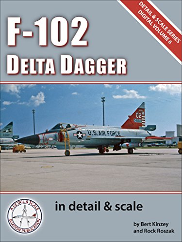 Scale Military Aircraft Series - F-102 Delta Dagger in Detail & Scale (Digital Detail & Scale Series Book 6)