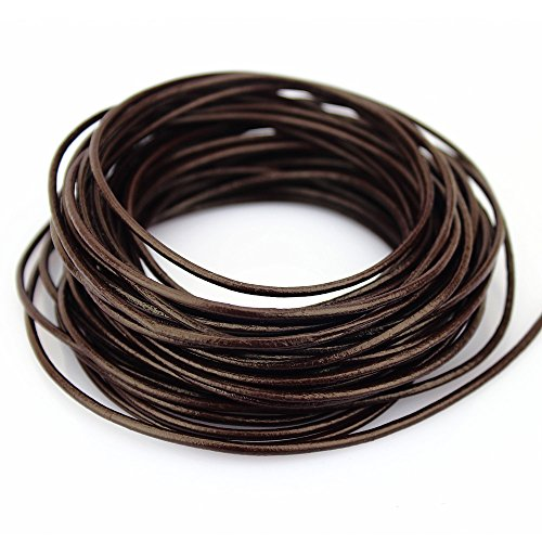 round leather cord 2mm - 5