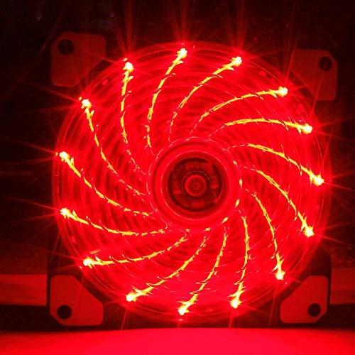 80mm fan white led - 7