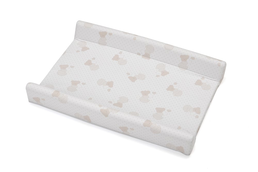 Foppapedretti Mats For Changing Table, Two Edges, Baby Bath, Multicoloured Sweetheart Dolcecuore 0049904140