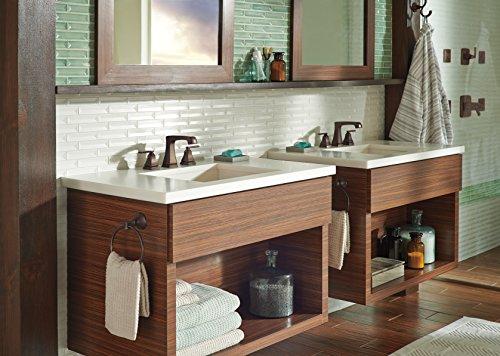 Delta Windemere B3596lf Double Handle Widespread Bathroom: Delta Faucet 3564-RBMPU-DST Ashlyn Two Handle Widespread