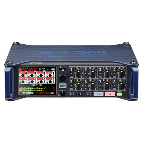 Zoom F8 MultiTrack Field Recorder ()