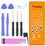 uowlbear Replacement Battery for iPhone 5S 5C with Complete Replacement Kits 3 Year