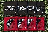 NBA Replacement All Weather Cornhole Bag Set NBA Team: Portland Blazers Trailblazers
