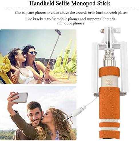 BianchiPamela Handheld U-Shape Shelfies Bracket Color Portable Extendable Monopod Holder