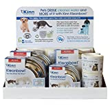Kleanbowl Superior Table Top Display - The Healthier Pet Water & Food Bowl for Dogs & Cats