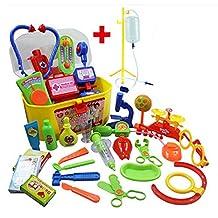 Role Play Game/ Doctor's Toys Medicine Cabinet Sets for Children Kids Doctor Kit/Random color