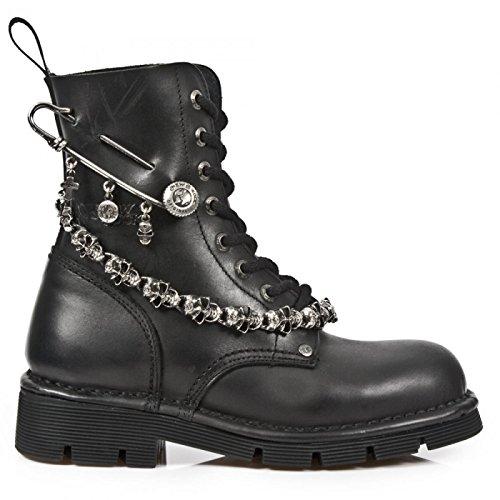 New Rock Laarzen M.newmili108-s1 Gothic Hardrock Punk Unisex Stiefel Staalkleurige
