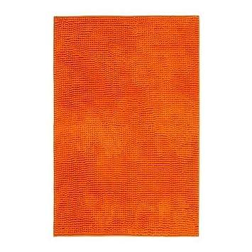 Toftbo Tapis De Bain Orange Ikea Of Sweden Amazon Fr Cuisine