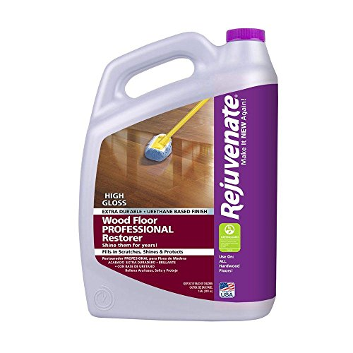 Rejuvenate 128 oz. Professional High Gloss Wood Floor Restorer - Rejuvenate Hardwood Floor