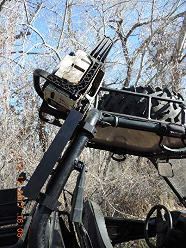 Honda Pioneer Roll Bar Chainsaw Mount RCM-3012 Hornet outdoors