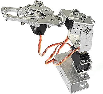 SainSmart 3-Axis Desktop Robotic Arm, Assembled for Arduino UNO MEGA2560  (Silver)
