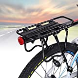 Cycling Bike Mountain Rear Rack Seat Post Mount Pannier Luggage Carrier with Reflector