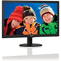 Philips V-line 223V5LHSB 21.5 LED LCD Monitor - 16:9 - 5 ms
