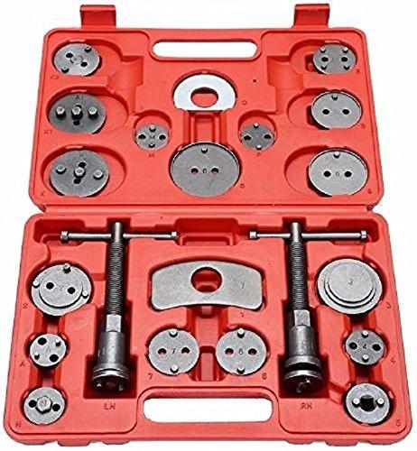 21pcs Universal Disc Brake Caliper Wind Back Tool Piston Pad Car Truck Mechanics,NEW by Jikkolumlukka