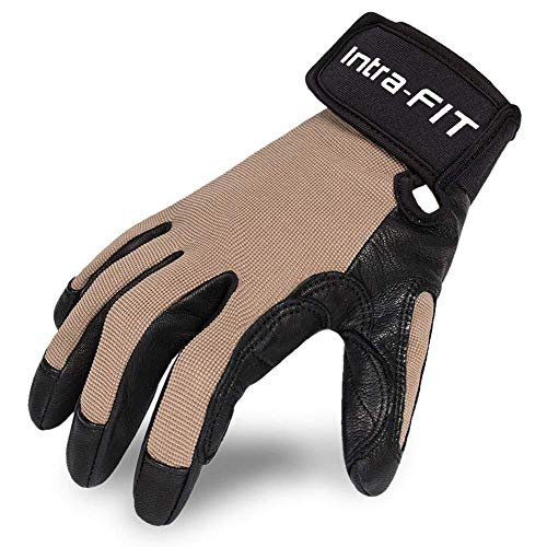 Intra-FIT Climbing Gloves Rope Gloves,Perfect for Rappelling, Rescue, Rock/Tree/Wall/Mountain Climbing, Adventure, Outdoor Sports, Soft, Comfortable,Improved Dexterity, Durable