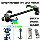 Spring Compressor Coil Strut Remover Center Springs Internal Installer Suspension Tool Auto By YOLO Stores