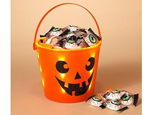 Light Up Trick Or Treat Bucket - Gerson Halloween Trick or Treat Light