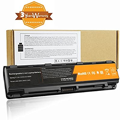 Fancy Buying Battery For Toshiba Satellite C55-A5282 C55-A5285 C55-A5286 C55-A5298 C55-A5300 C55-A5302 C55-A5308 C55-A5309 C55-A5311 C55-A5330 C55-A5332 5200mAh 6 cell from Fancy Buying