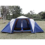 Fashine 2 Bedroom 6-8 Person Tent Quick Set Up Family Camping Tent With Shelter(US Stock) Review