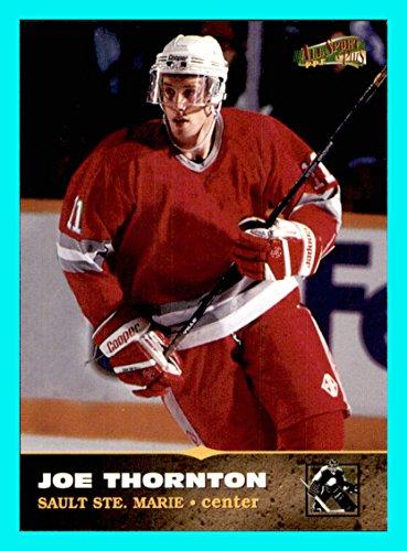 1996-97 Score Board All Sport PPF #171 Joe Thornton BOSTON BRUINS Sault Ste. Marie SAN JOSE SHARKS