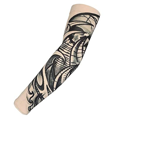 BAO-FU 4 Estilos de Nylon Traje de Estiramiento Falso Tatuaje ...