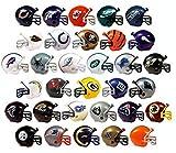 "NFL COLLECTIBLE Mini Helmets Set ALL Complete 32 TEAMS 2"" Gumball Football Bulk"