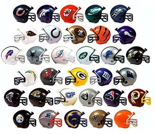 Unbranded* NFL COLLECTIBLE Mini Helmets Set ALL Complete 32 TEAMS 2