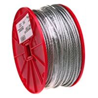 "Campbell Cable galvanizado de 1/4 ""x 250 'para cable de avión 7000827"