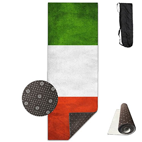 BINGZHAO Italy Other Honorable Flags Exercise Yoga Mat For Pilates,Gym,Fitness,Travel & Hiking by BINGZHAO
