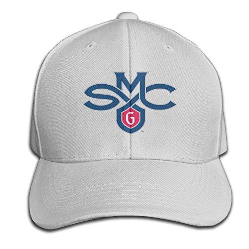 Adjustable Saint Marys College Of California Cotton Plain Ash Peak Baseball CapIvy Cap For Adult