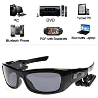 LIYUDL Bluetooth 4.0 A2DP Wireless Stereo Sunglasses Headset Handfree For Smart Phones