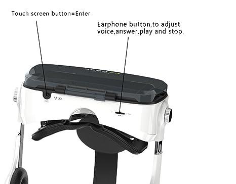 VIGICA 3D VR Occhiali Google Cartone Realtà Virtuale Headset ...