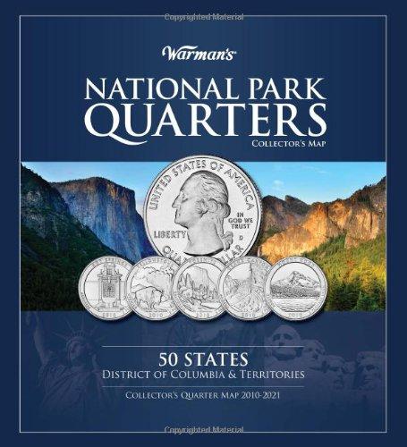 National Park Quarter Map (Warman's Collector Coin Folders) -