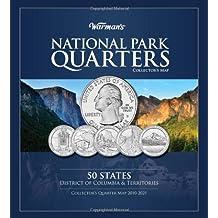 national park quarter map warman s collector coin folders
