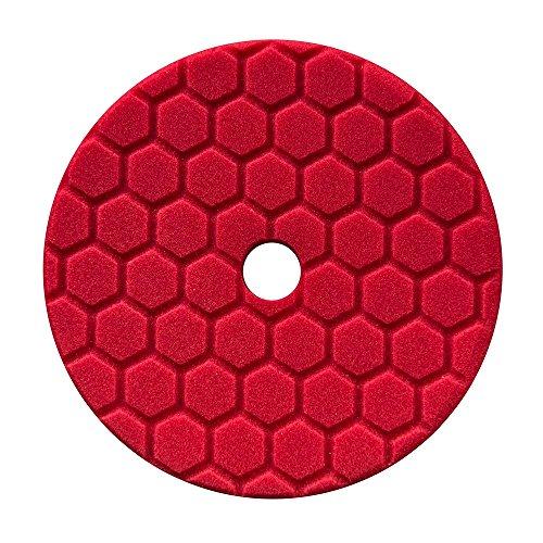 Chemical Guys BUFX117HEX5 Hex-Logic Quantum Ultra Light Finishing Pad (Red, 5.5 Inch)