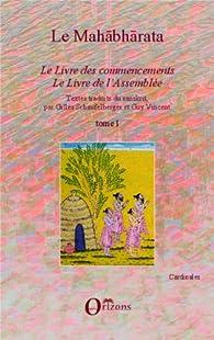 Le Mahabharata, tome 1 par Gilles Schaufelberger