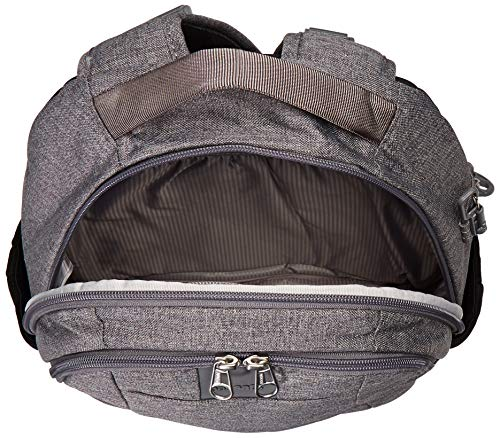 51k9auiX7nL - Travelon Anti-Theft Urban Backpack, Slate