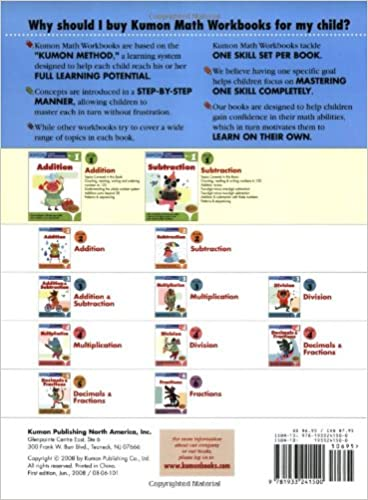Grade 1 Subtraction (Kumon Math Workbooks): Kumon Publishing ...