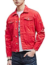 Amazon Com Reds Denim Lightweight Jackets Clothing Shoes