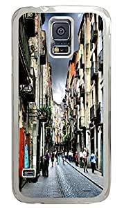 Samsung Galaxy S5 protective cases Spanish Cities PC Transparent Custom Samsung Galaxy S5 Case Cover by supermalls