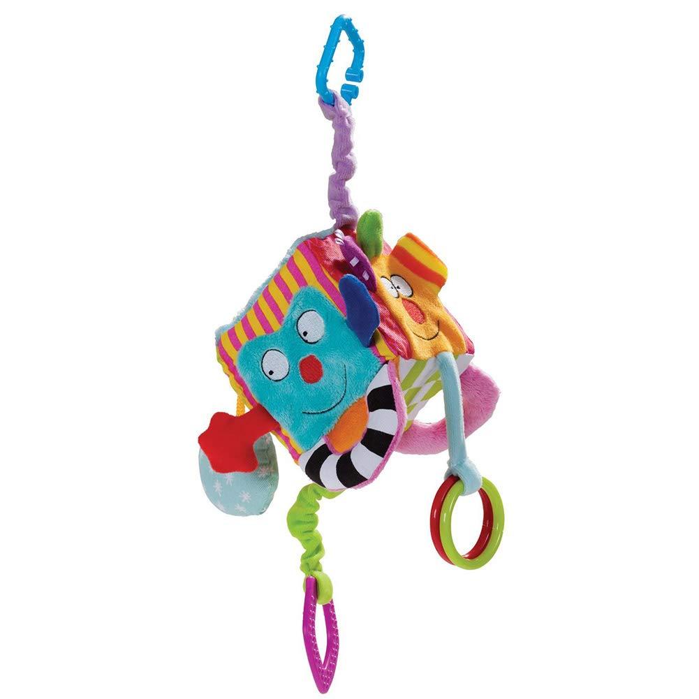 Yeleo Trosetry Jouet Suspendu Lit Berceau Poussette Jouet Cube Educatif Multicolore pour Bébé